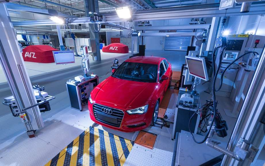 Audi A3 Sedan: start of production picture #9