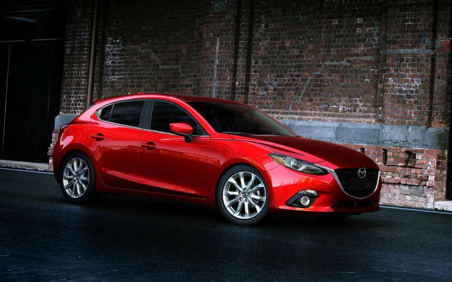 Mazda3 2014 finally revealed! picture #12