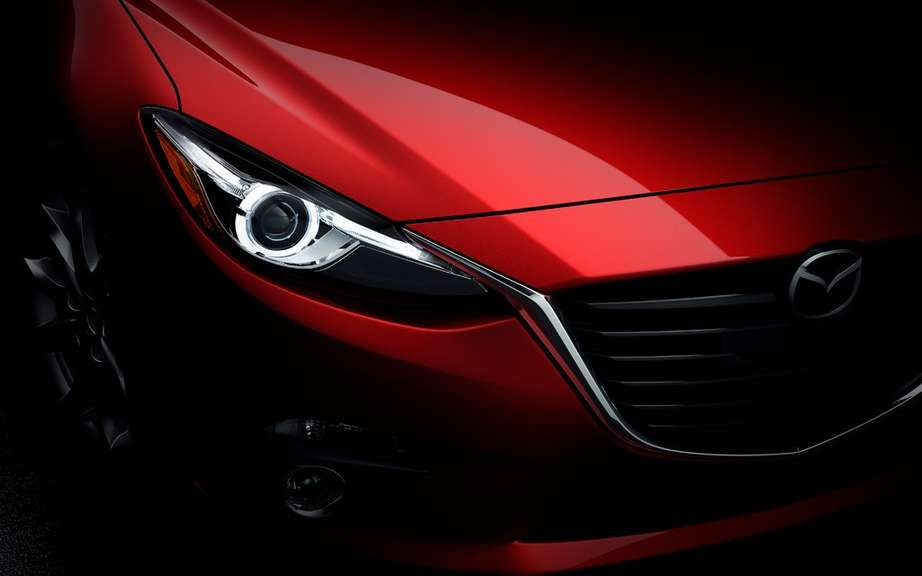 Mazda3 2014 finally revealed! picture #14