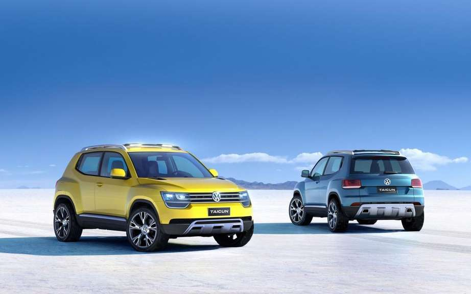Volkswagen Taigun Concept: more revealing photos