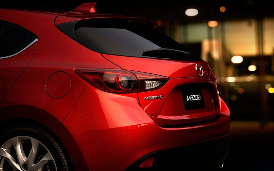 Mazda3 2014 finally revealed! picture #15