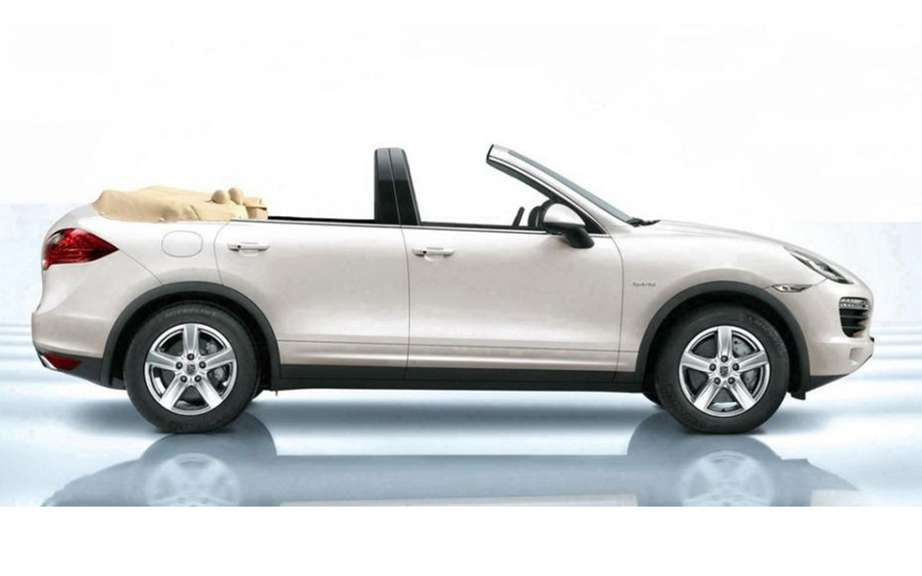 Porsche Cayenne cabriolet: the crazy idea of ​​Newport Convertible picture #2
