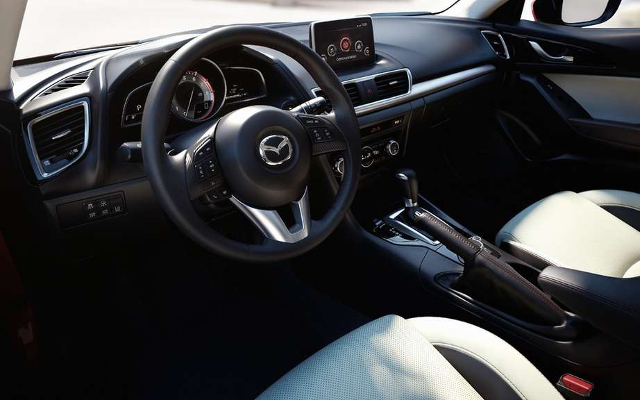 Mazda3 2014 finally revealed! picture #16