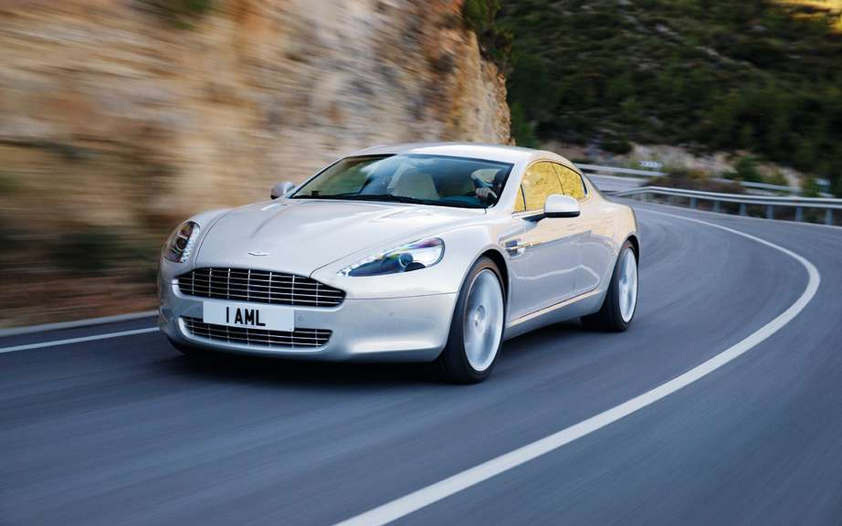 Aston Martin Bosch design and a rechargeable hybrid DB9 picture #3
