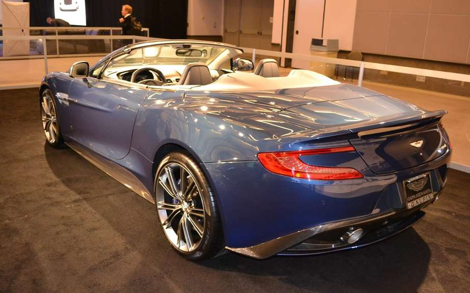Volante Aston Martin Vanquish: The Supreme convertible