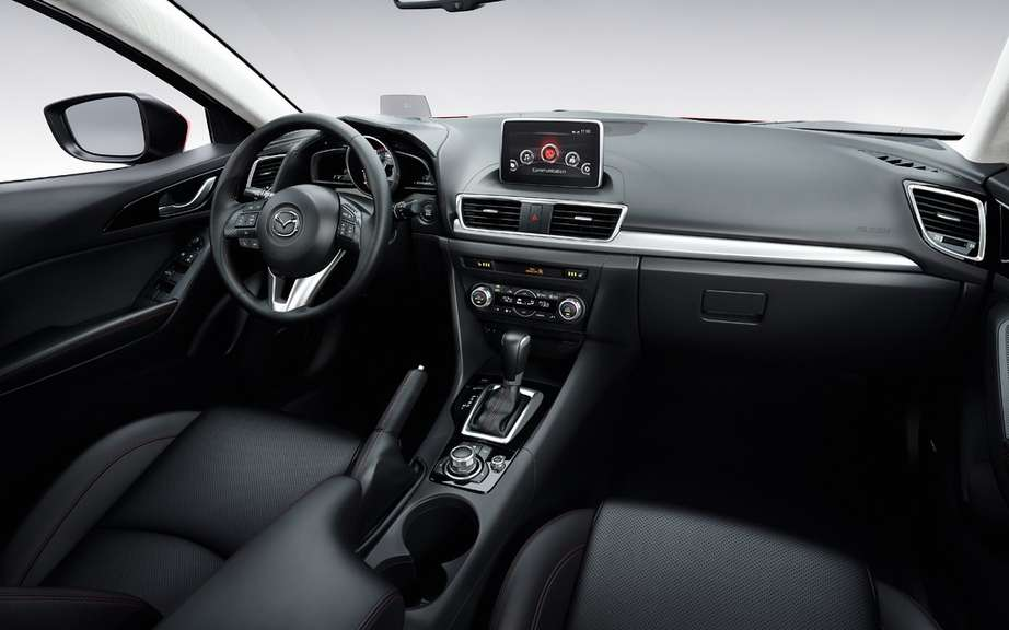 Mazda3 2014 finally revealed! picture #17