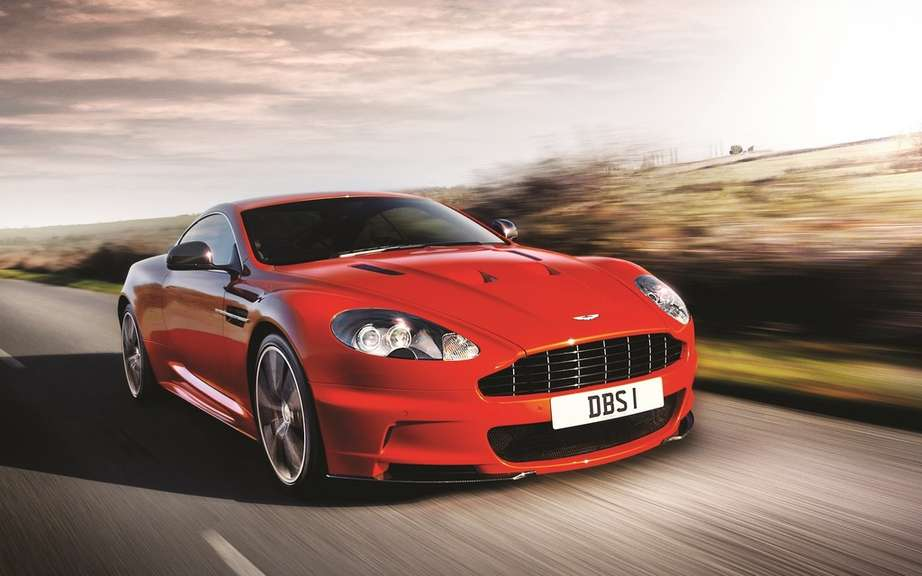 Aston Martin Bosch design and a rechargeable hybrid DB9 picture #4