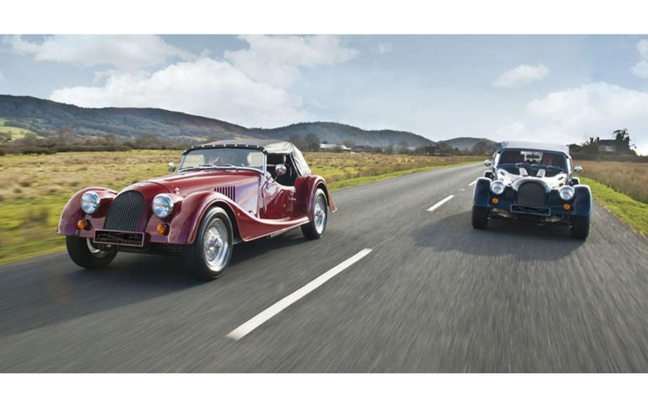 Morgan celebrated the 100th anniversary of its factory with a Plus 8