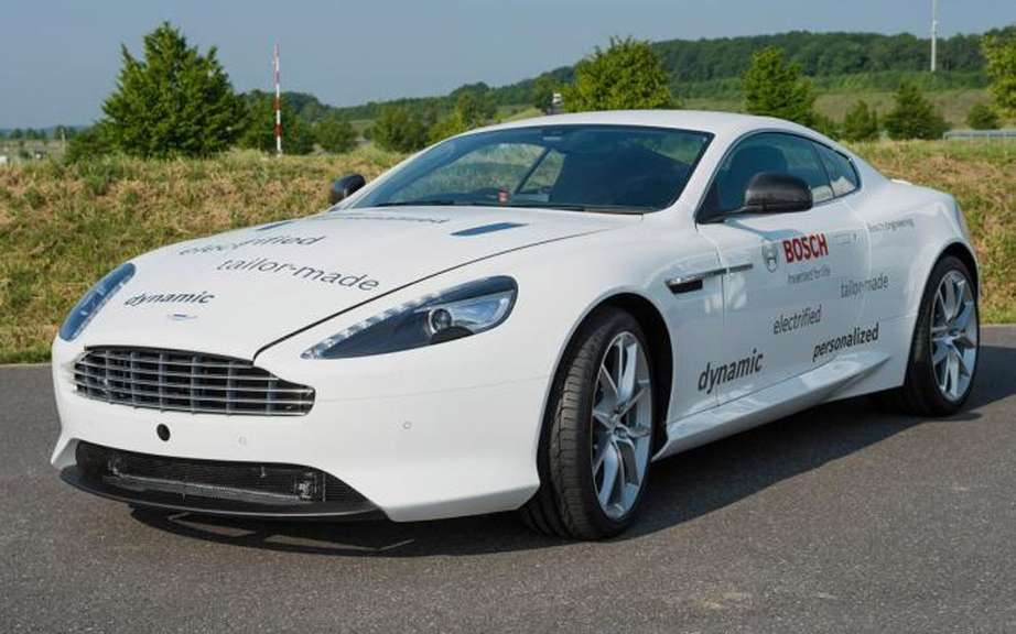 Aston Martin Bosch design and a rechargeable hybrid DB9 picture #5
