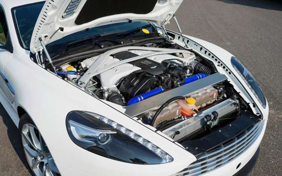 Aston Martin Bosch design and a rechargeable hybrid DB9 picture #6