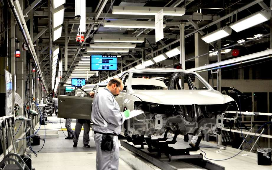 No union has an American Volkswagen factory picture #2