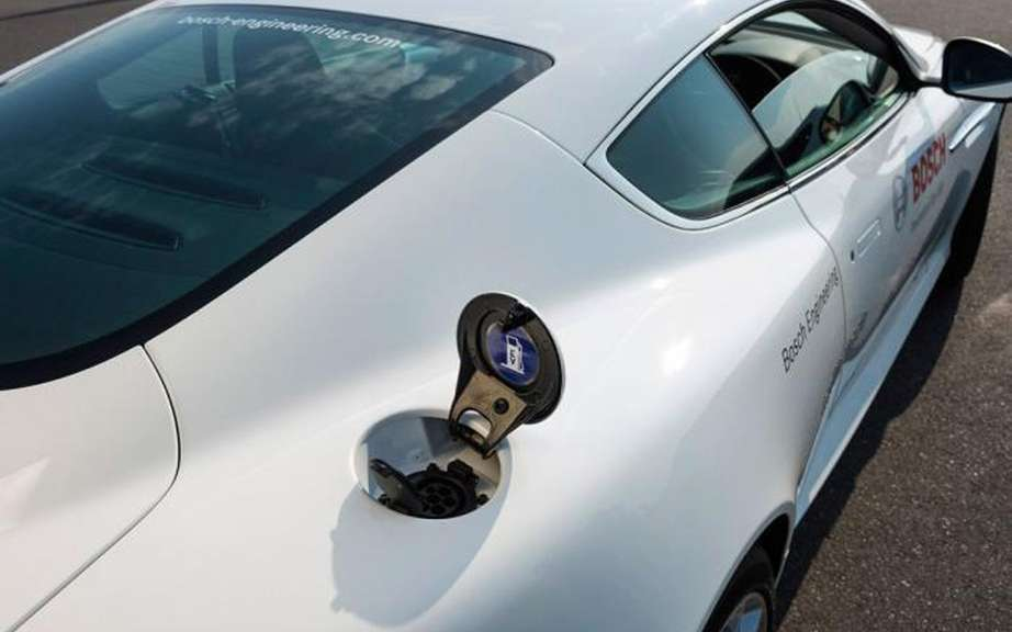 Aston Martin Bosch design and a rechargeable hybrid DB9 picture #8