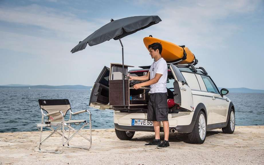 "Mini unveils its concepts ""Getaway"" for camping picture #2"