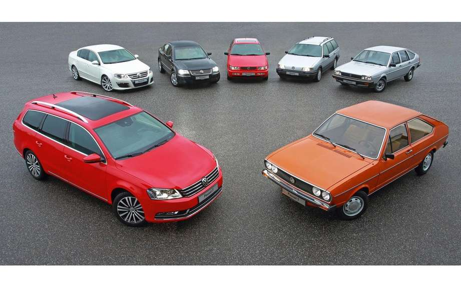 Volkswagen Passat: 40 years of career picture #3