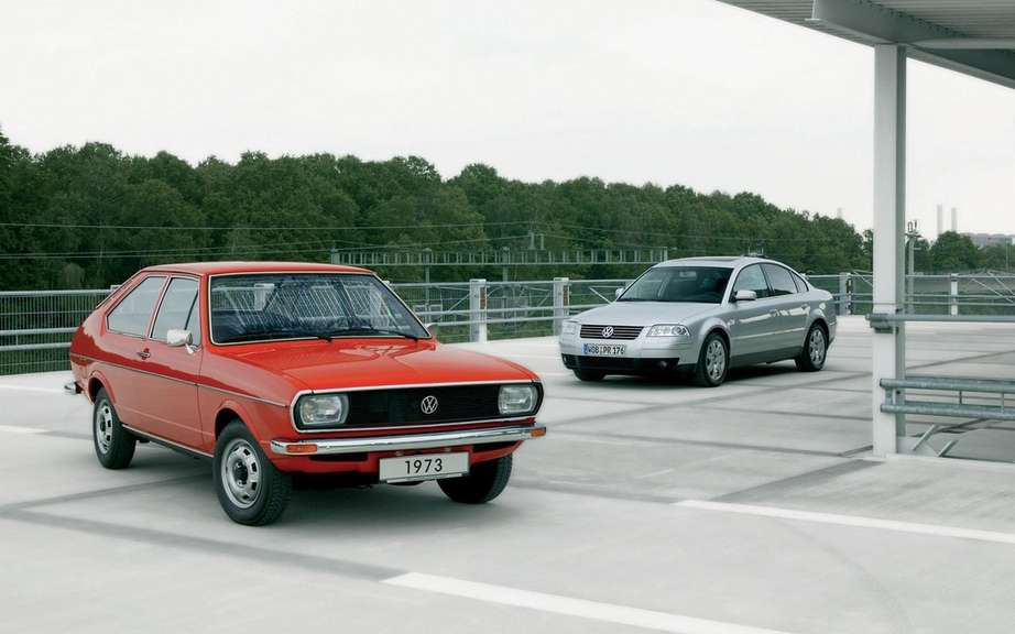 Volkswagen Passat: 40 years of career picture #4
