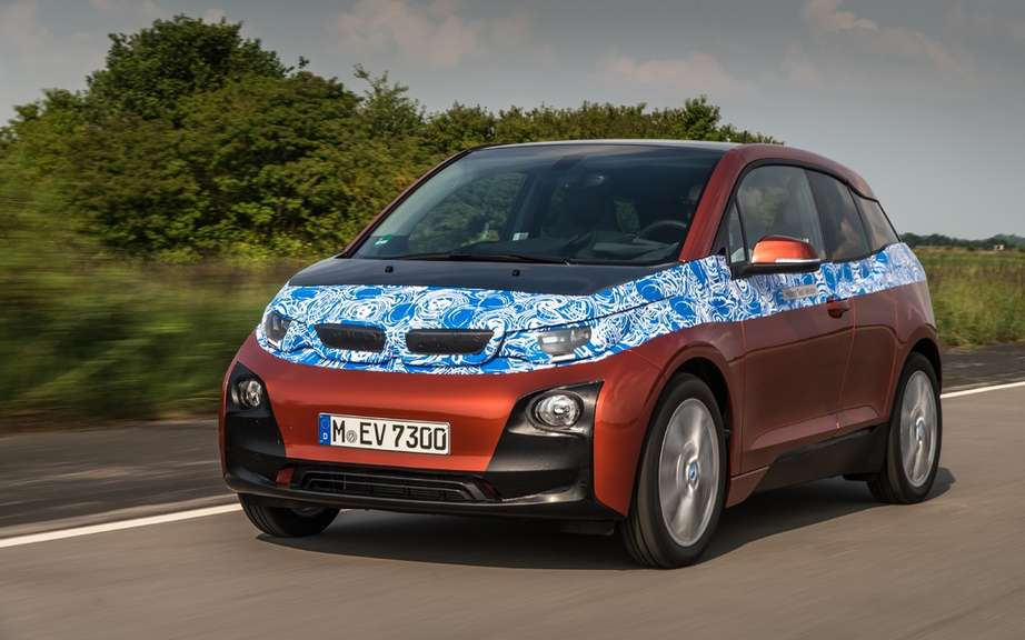 BMW i3 series unveiled in New York, London and Beijing picture #4