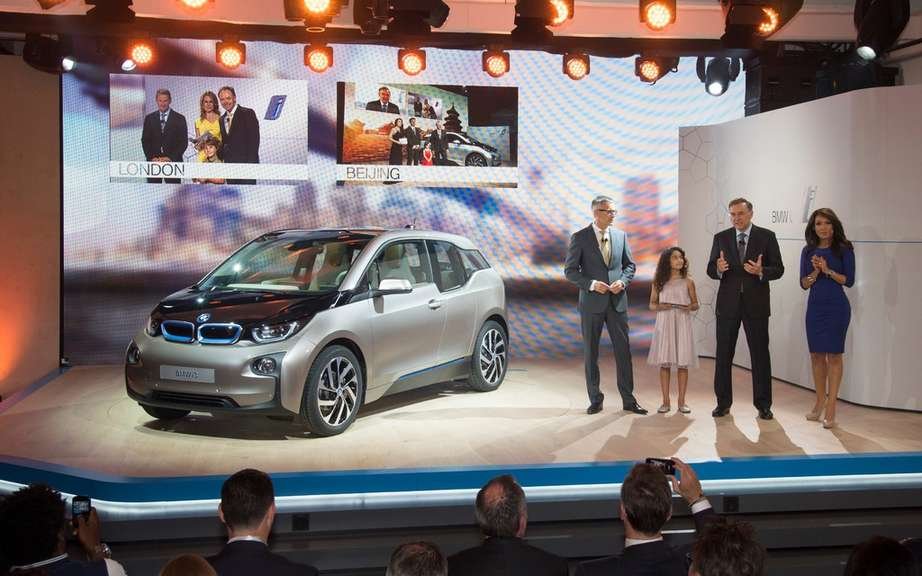 BMW i3 series unveiled in New York, London and Beijing picture #6