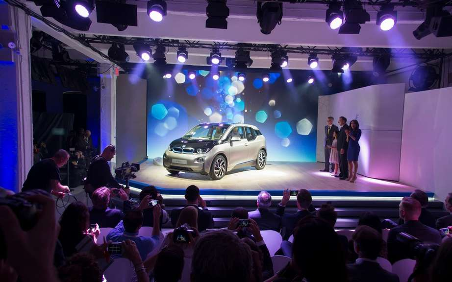 BMW i3 series unveiled in New York, London and Beijing picture #7