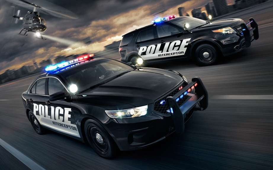 Ford Police Interceptor protector of peace officers