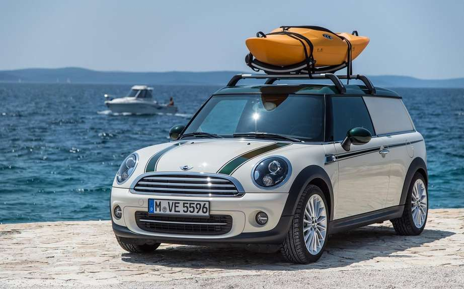 "Mini unveils its concepts ""Getaway"" for camping picture #5"
