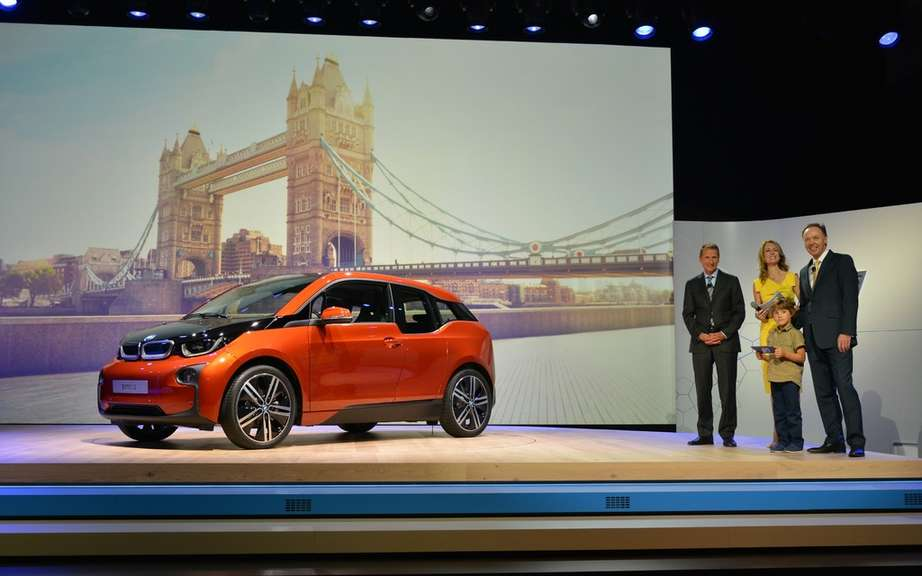 BMW i3 series unveiled in New York, London and Beijing picture #8