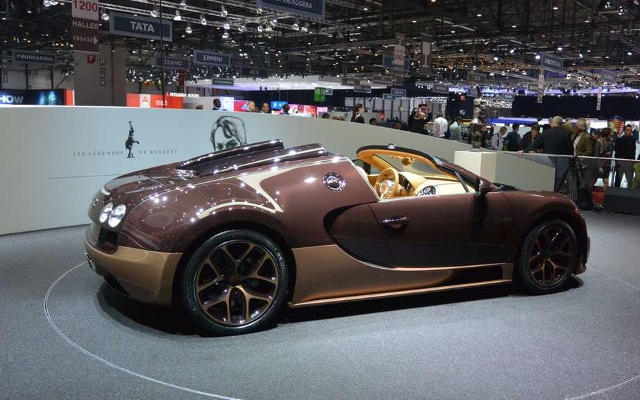 Bugatti Veyron Grand Sport Speed ​​tribute to Jean-Pierre Wimille picture #2