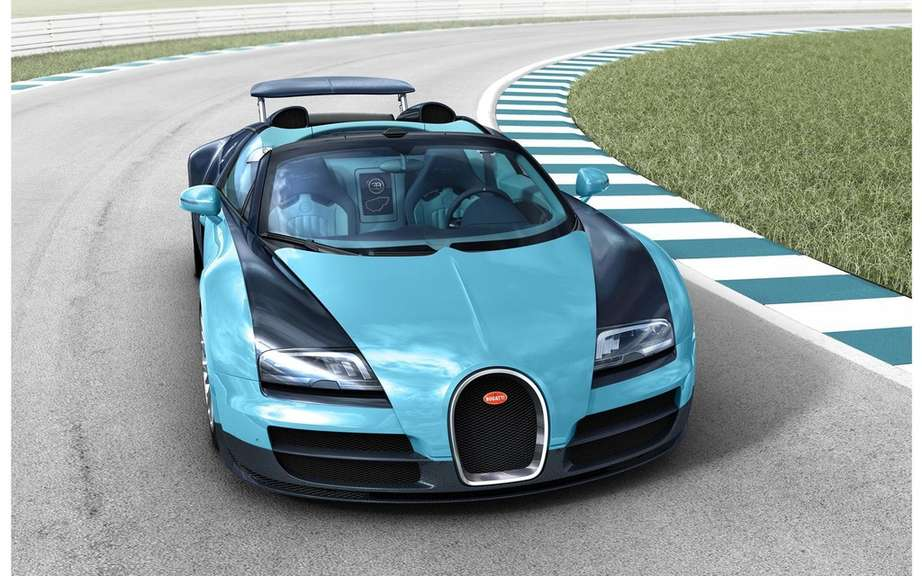 Bugatti Veyron Grand Sport Speed ​​tribute to Jean-Pierre Wimille picture #10