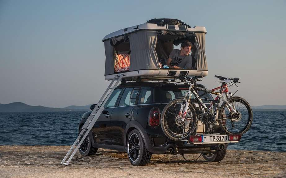 "Mini unveils its concepts ""Getaway"" for camping picture #6"