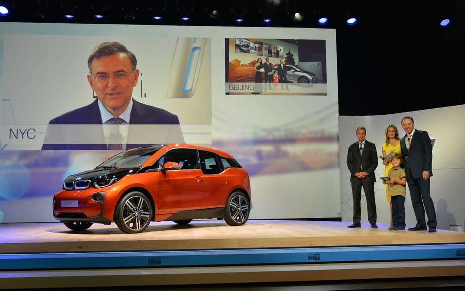 BMW i3 series unveiled in New York, London and Beijing picture #9