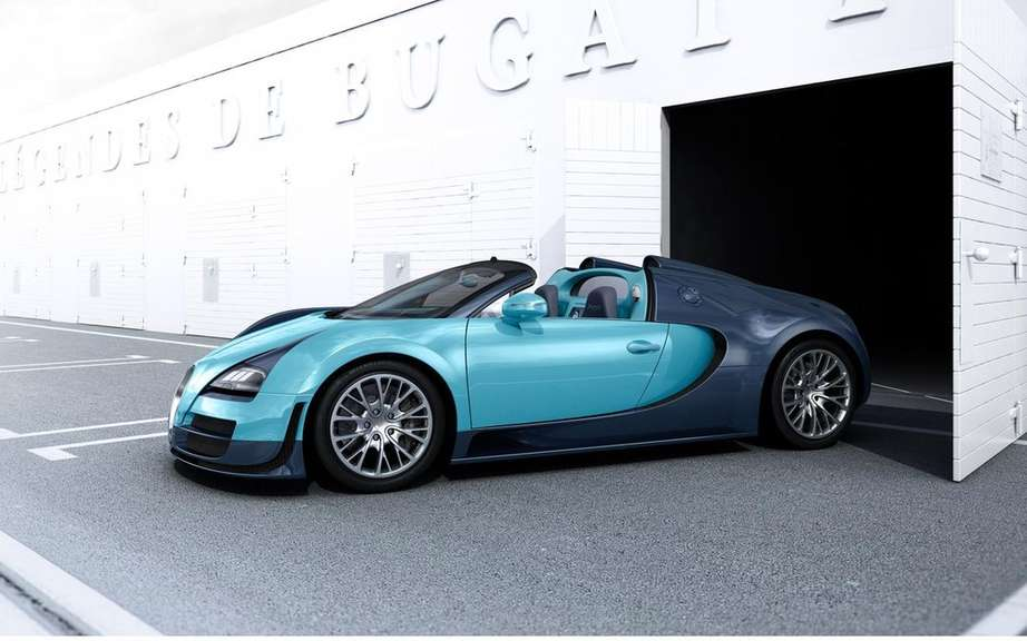 Bugatti Veyron Grand Sport Speed ​​tribute to Jean-Pierre Wimille picture #12