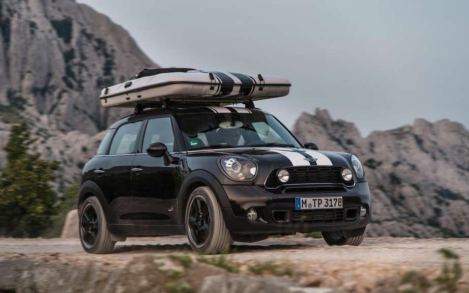 "Mini unveils its concepts ""Getaway"" for camping picture #7"