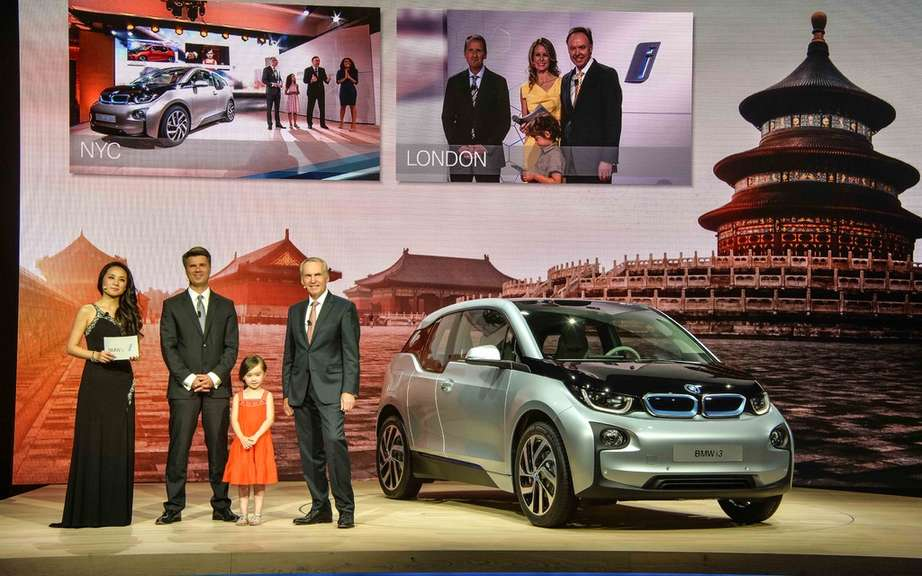 BMW i3 series unveiled in New York, London and Beijing picture #10