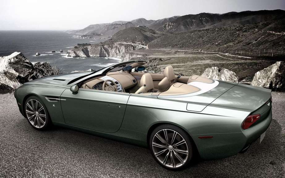 Aston Martin DBS and DB9 Coupe Zagato Spyder bearing the signatures picture #6