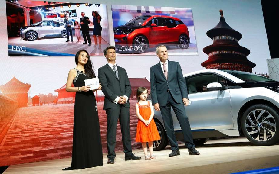 BMW i3 series unveiled in New York, London and Beijing picture #11