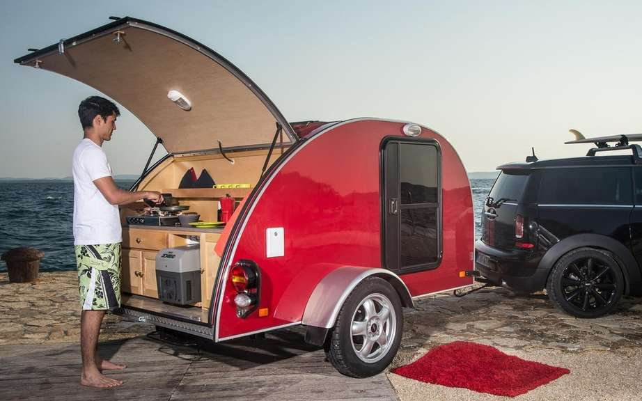 "Mini unveils its concepts ""Getaway"" for camping picture #9"