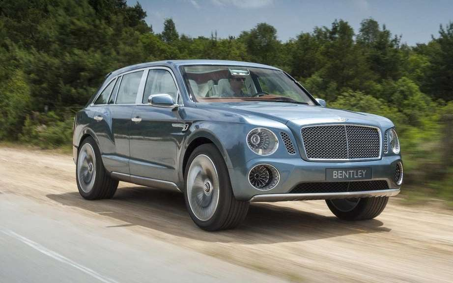 Bentley: a first SUV for the 2016 model year,