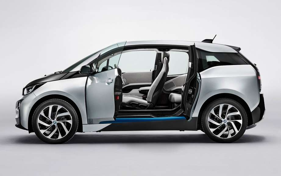 BMW i3 series unveiled in New York, London and Beijing picture #13