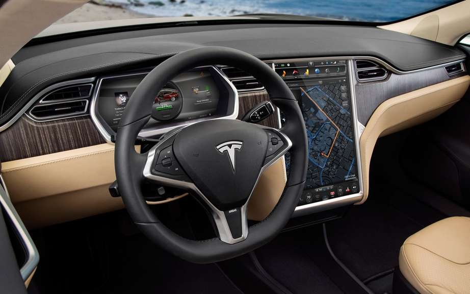Tesla Model S Lengthens wheelbase to the Chinese market? picture #6