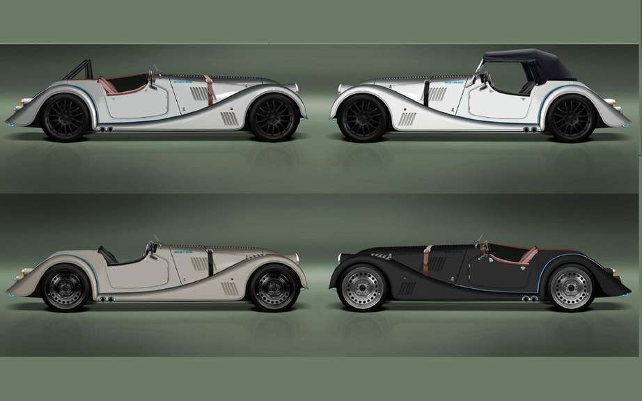 Morgan celebrated the 100th anniversary of its factory with a Plus 8 picture #3