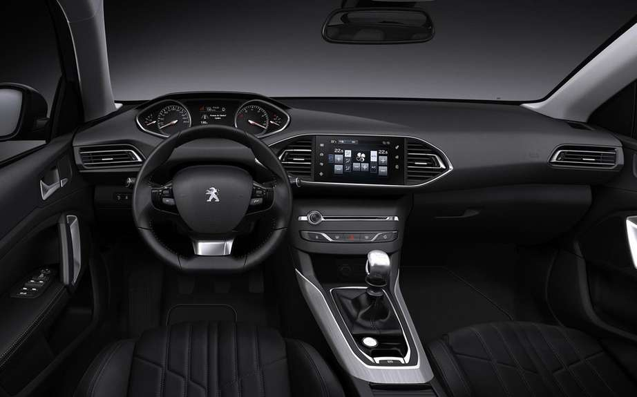 Peugeot 308: direct competitor to the Golf on European markets picture #5