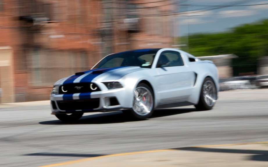 "Ford Mustang: 3000 appearances in the film ""Need for Speed"" picture #4"