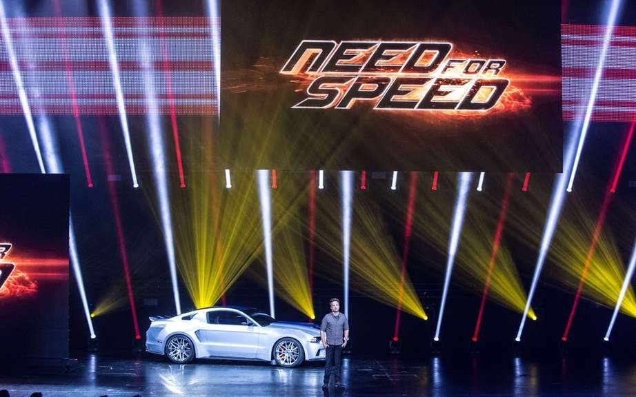"Ford Mustang: 3000 appearances in the film ""Need for Speed"" picture #8"