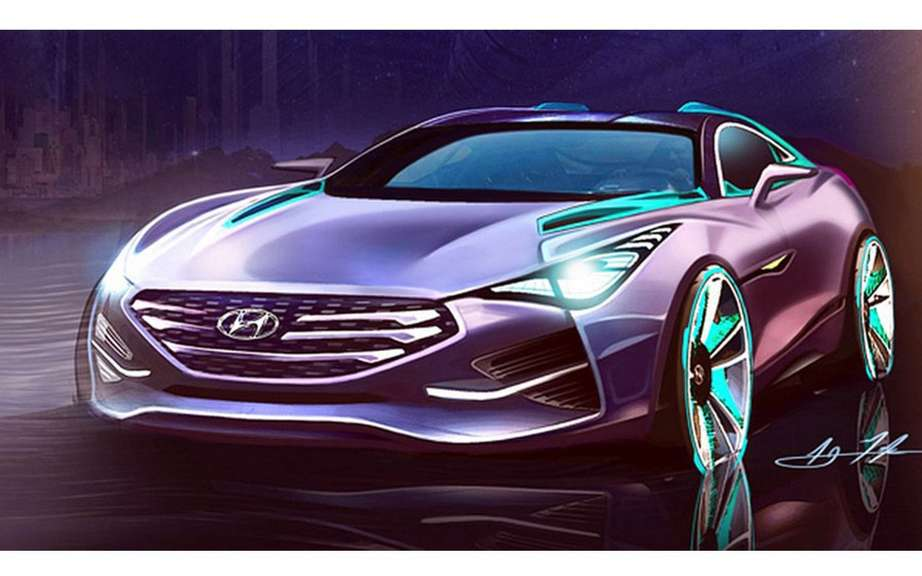 Hyundai i80 Tourer Concept Sports: AJ sketches Merk picture #1