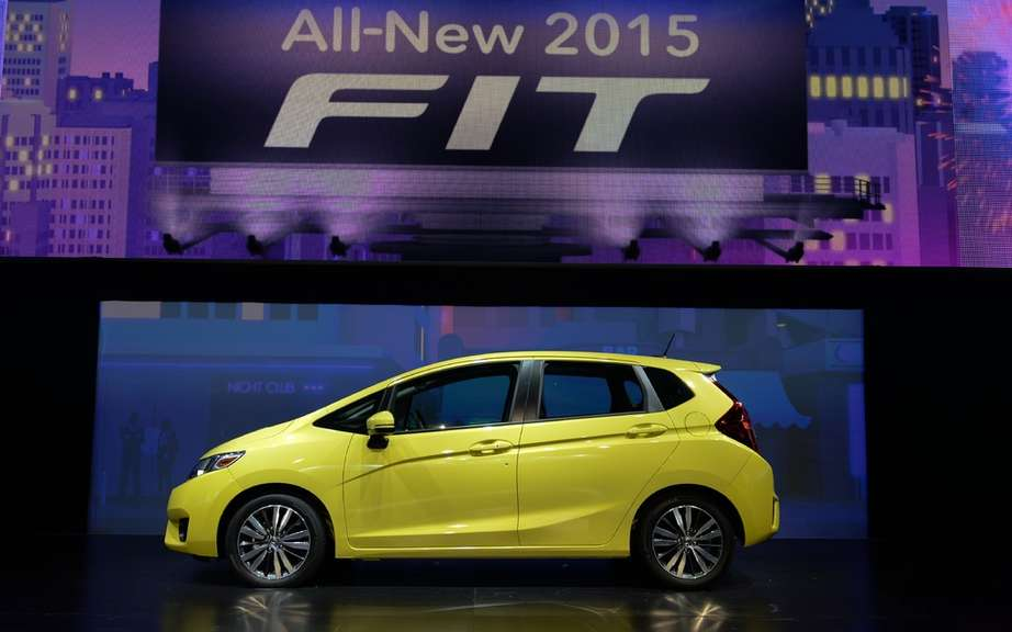 Honda Fit 2014 unveiled on the Net picture #1