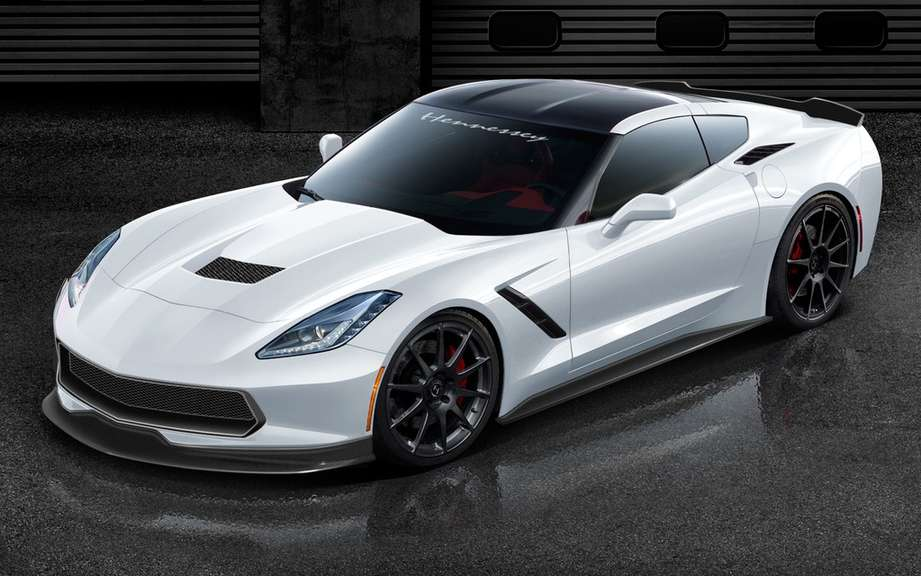 Hennessey unveils His personal versions of the Corvette Stingray