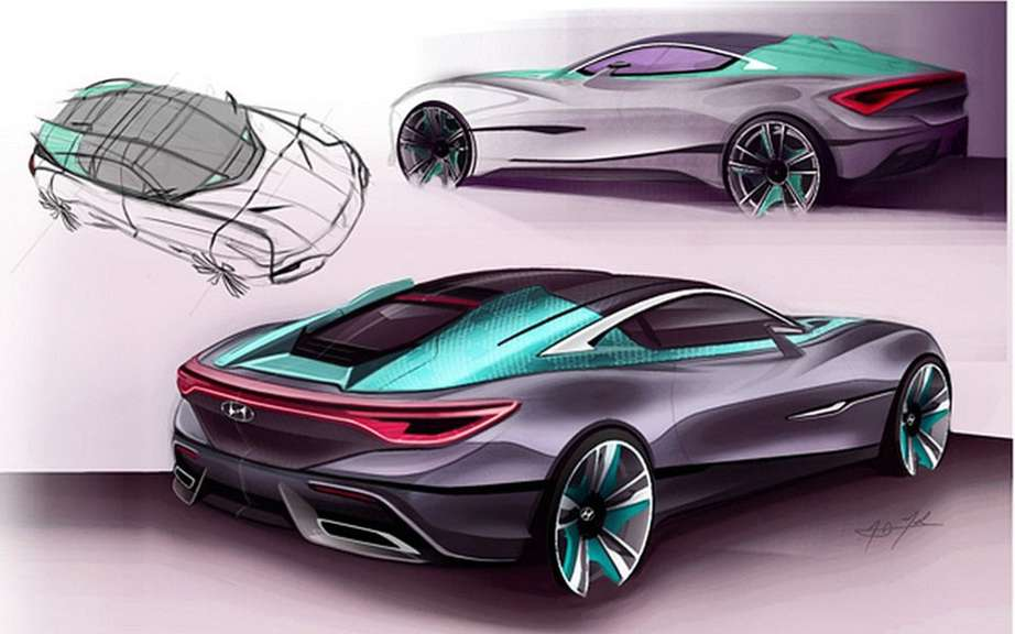 Hyundai i80 Tourer Concept Sports: AJ sketches Merk picture #2