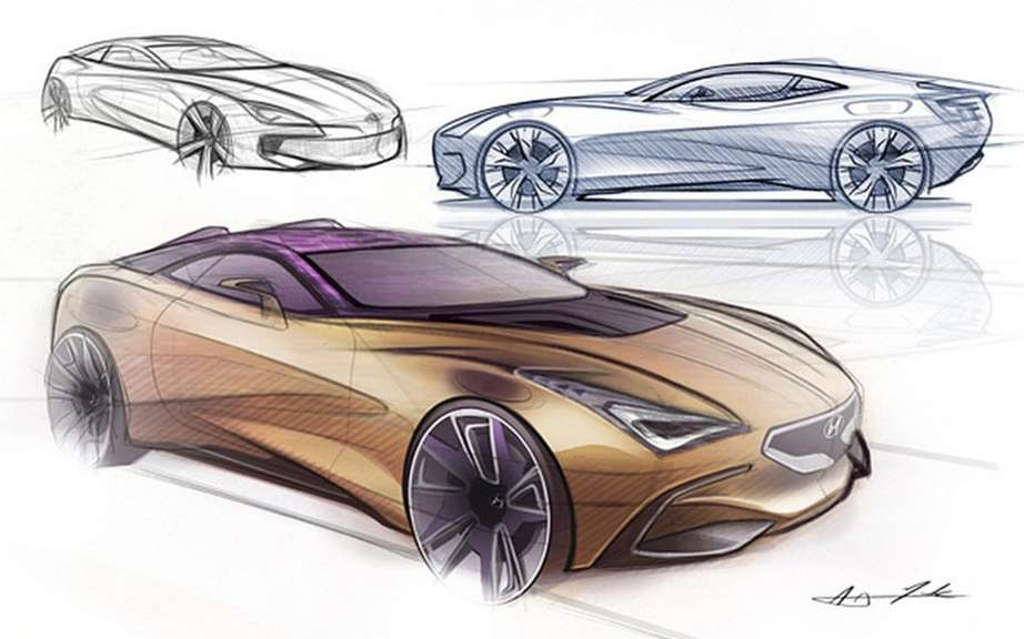 Hyundai i80 Tourer Concept Sports: AJ sketches Merk picture #3