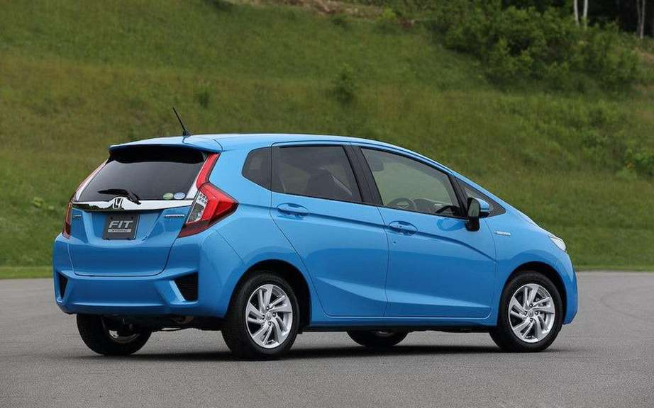 Honda Fit 2014 unveiled on the Net picture #6