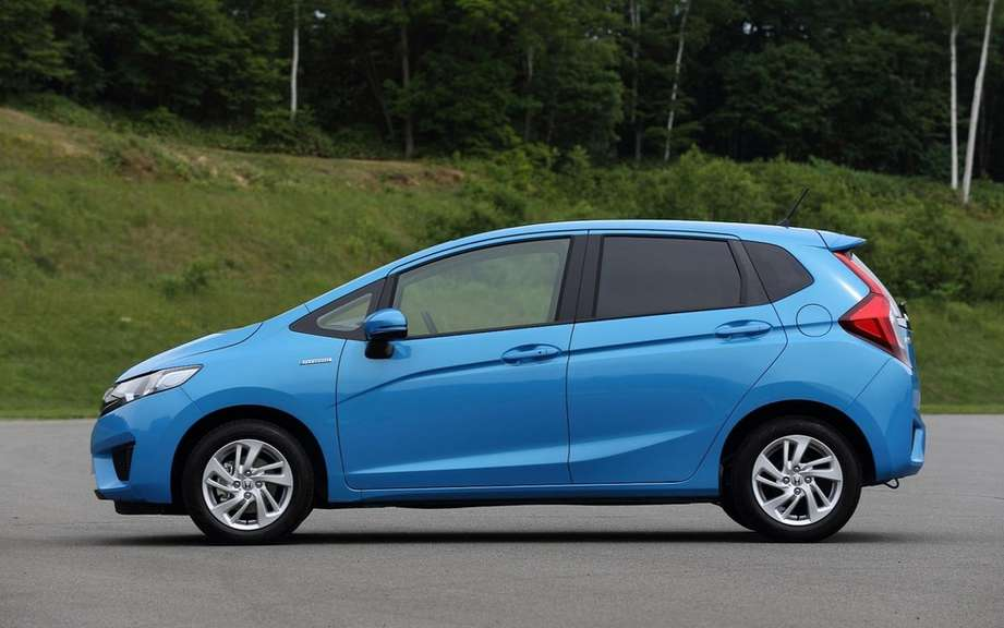 Honda Fit 2014 unveiled on the Net picture #7