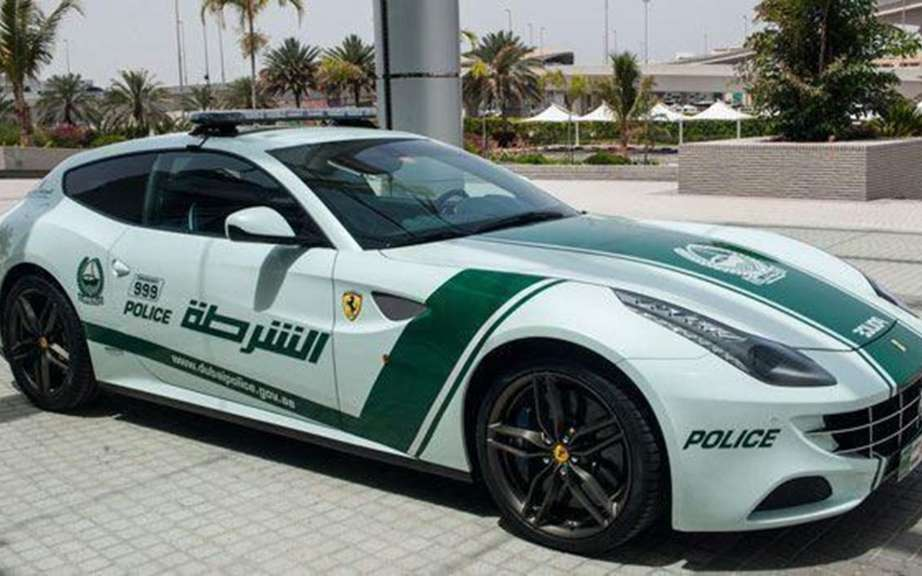 Renault Twizy in the department of the Dubai Police